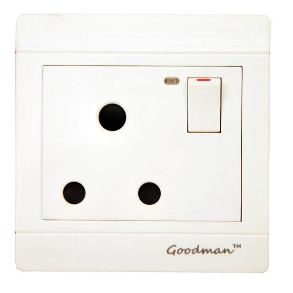 Goodman 15A single switch white