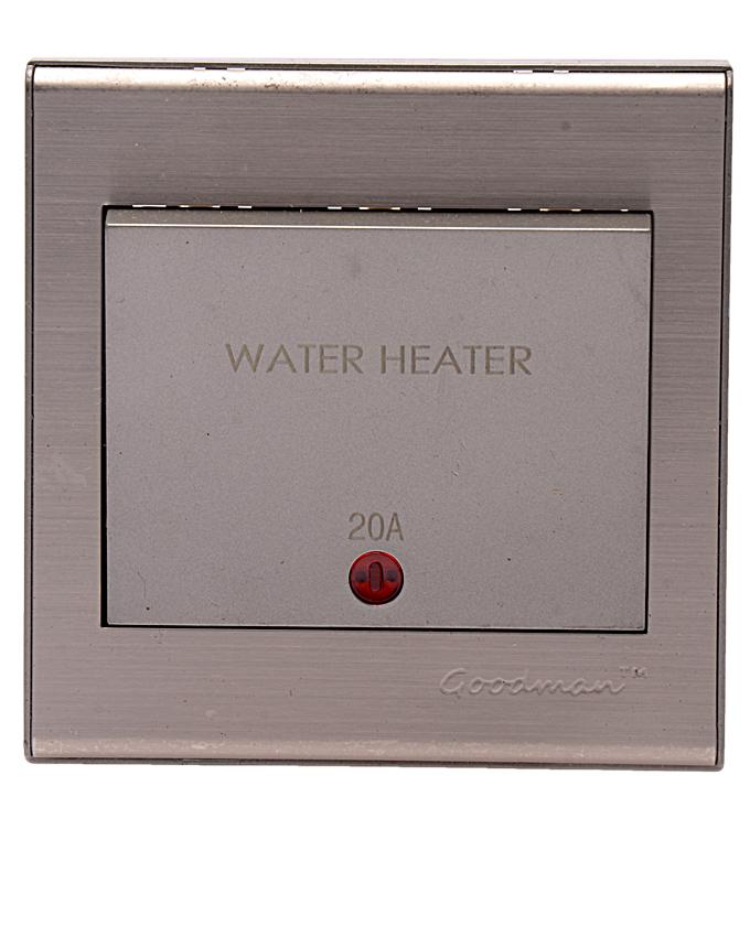 Water Heater switch 20A Elite Mettalic