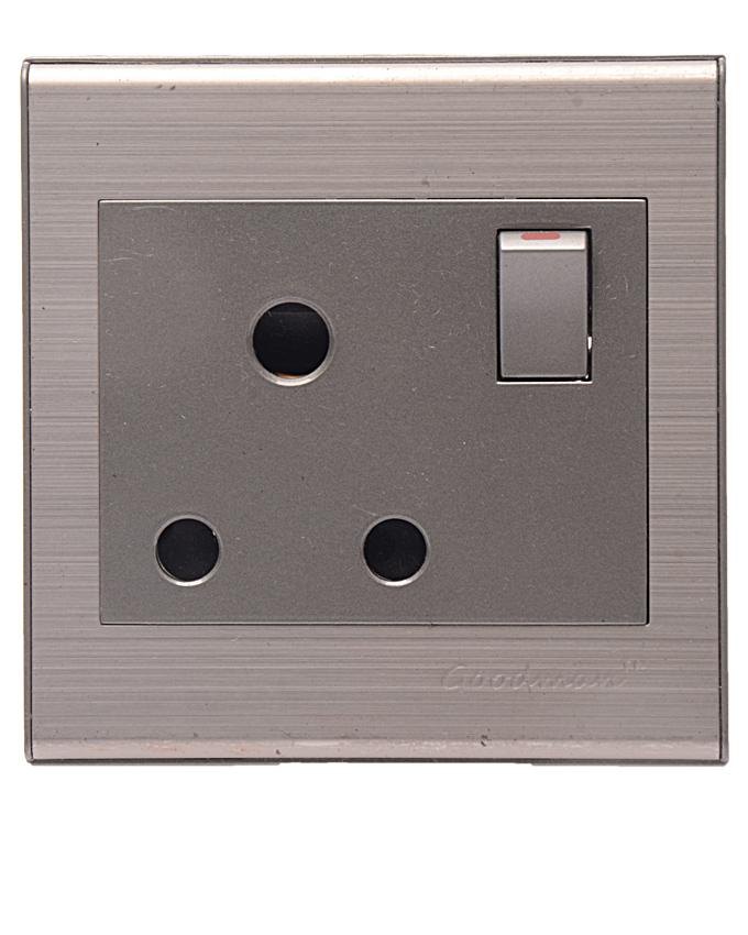Goodman 15A socket Elite Mettalic