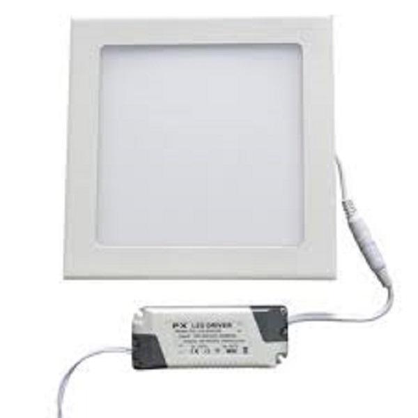 12w panel led ceiling light square shape