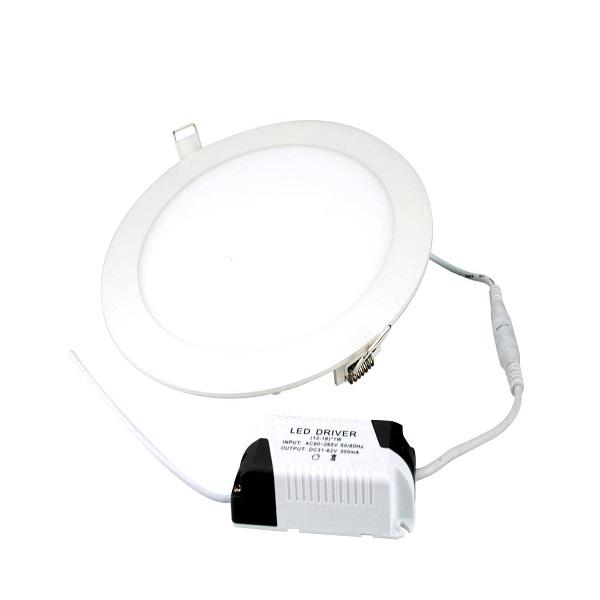 18w panel led ceiling light round shape