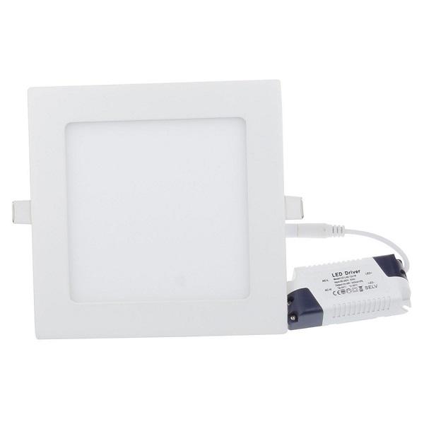 6w panel led ceiling light square shape