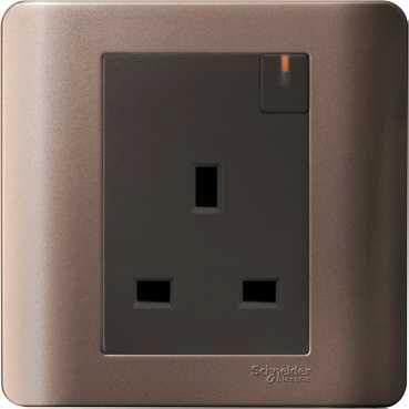 Schneider ZENcelo 13A socket outlets