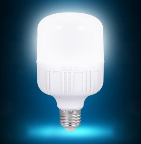 T140-50w LED bulb switched on